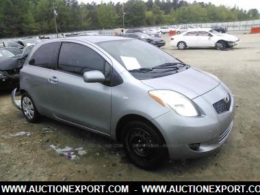 2008 toyota yaris hatchback 4 door